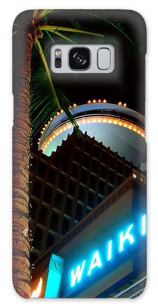 Waikiki Nightlife Galaxy Case