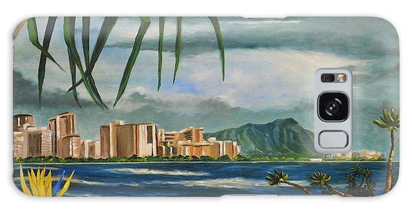 Waikiki View Galaxy Case