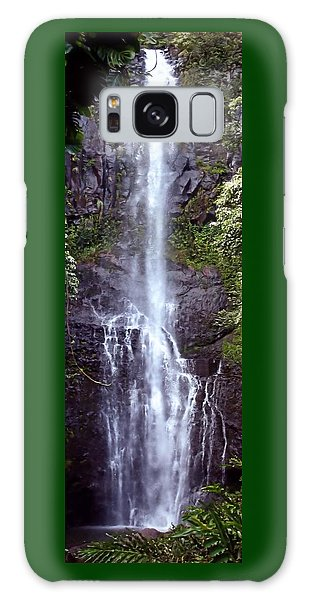 Wailua Falls Maui Hawaii Galaxy Case