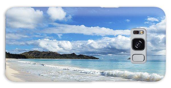 Waimanalo And Bellows Beach 1 Galaxy Case
