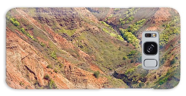 Waimea Canyon Abstract Galaxy Case