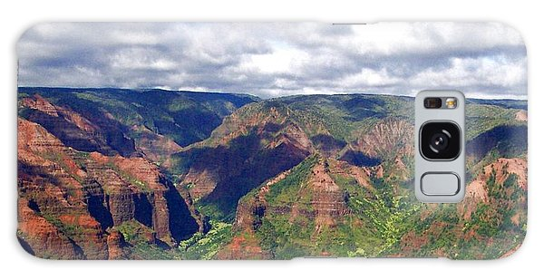 Waimea Canyon Galaxy Case by Amy McDaniel