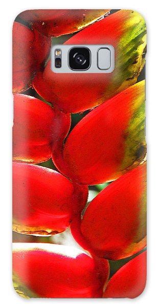 Waimea Flowers Iv Galaxy Case
