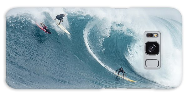 Waimea Surfers Galaxy Case