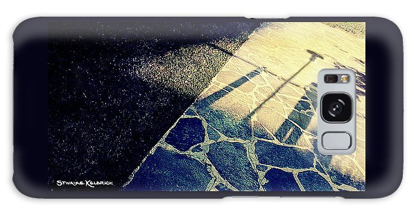 Galaxy Case featuring the photograph Wait In The Shade by Stwayne Keubrick