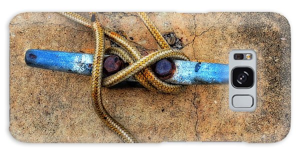 Boat Galaxy S8 Case - Waiting - Boat Tie Cleat By Sharon Cummings by Sharon Cummings