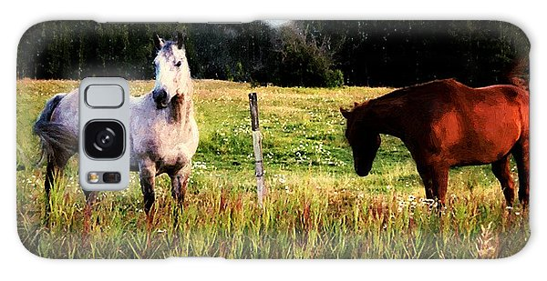 Waiting For Apples Galaxy Case by RC deWinter
