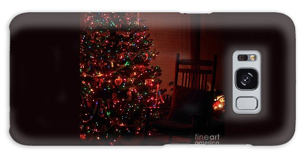Waiting For Christmas - Square Galaxy Case