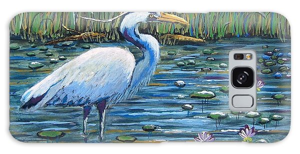 Waiting For Lunch Galaxy Case by Suzanne Theis