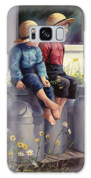 Brothers Galaxy Case - Waiting For Mama by Laurie Snow Hein