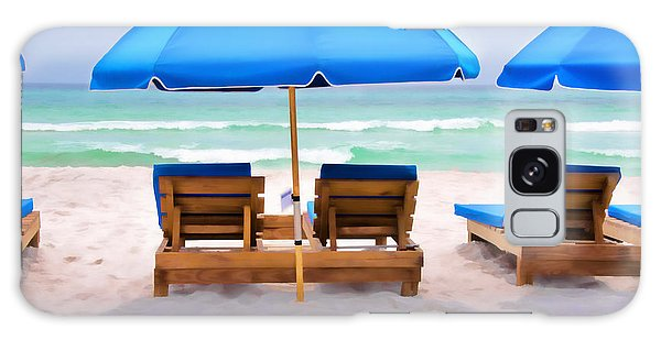 Panama City Beach Digital Painting Galaxy Case