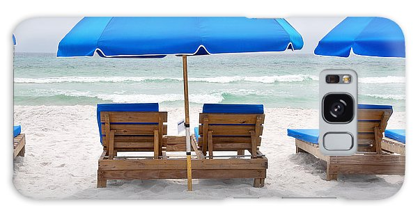 Panama City Beach Florida Empty Chairs Galaxy Case