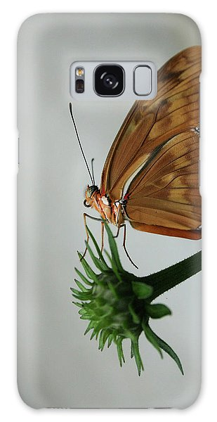 Butterfly Waiting On The Wind  Galaxy Case by Cathy Harper