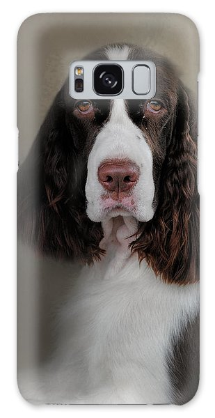 Waiting Patiently - English Springer Spaniel Galaxy Case