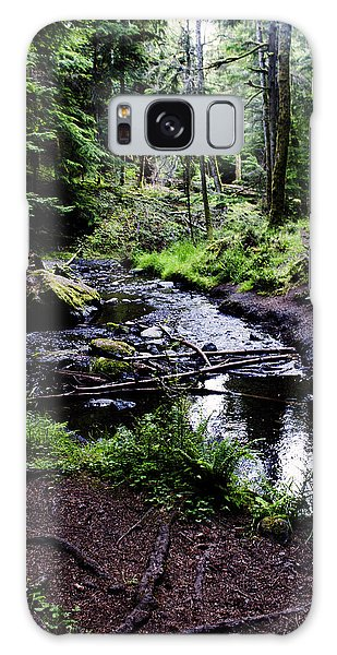 Walk By The Water Galaxy Case
