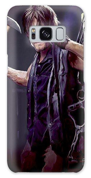 Iphone Case Galaxy Case - Walking Dead - Daryl Dixon by Paul Tagliamonte