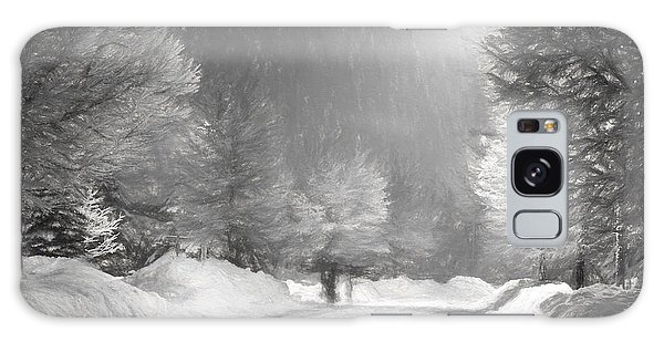 Winter Walk Galaxy Case