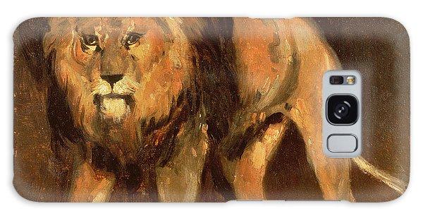 Beast Galaxy Case - Walking Lion by Theodore Gericault