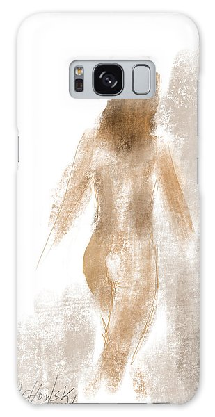 Walking Nude Galaxy Case