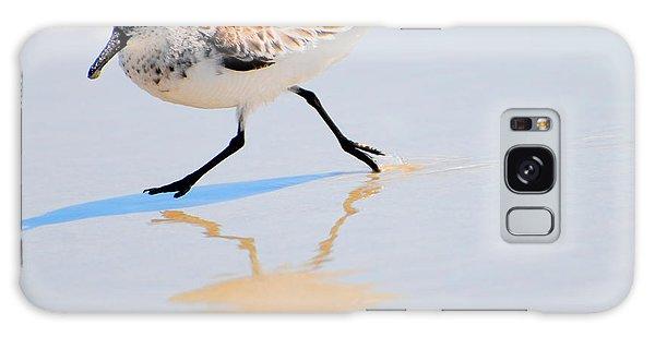 Walking Shorebird  Galaxy Case