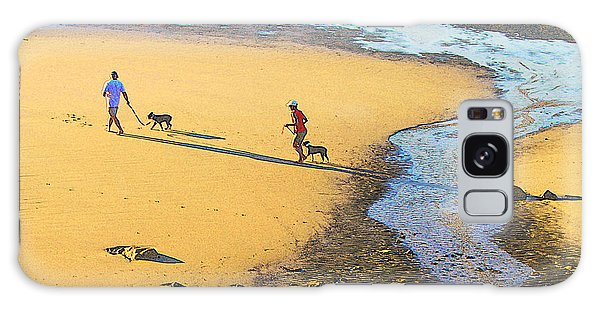 Walking The Dogs Galaxy Case