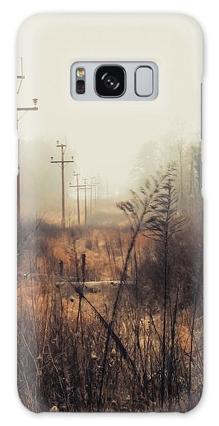 Walking The Lines Galaxy Case