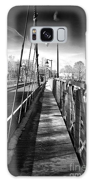 Walking The Riegelsville Bridge Galaxy Case