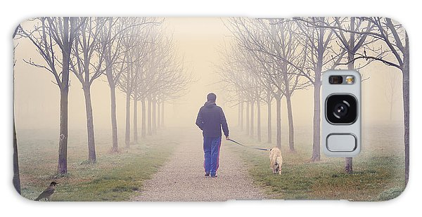 Walking With The Dog Galaxy Case