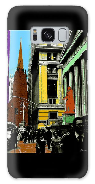 New York Pop Art 99 - Color Illustration Galaxy Case