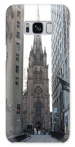 Wall Street Leading To Trinity Church Galaxy Case