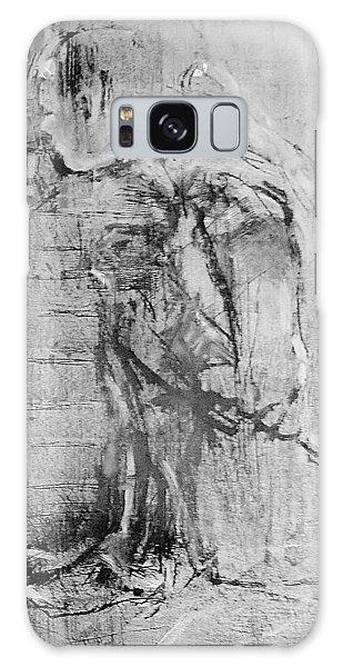 Wallflower Galaxy Case by Jean Cormier