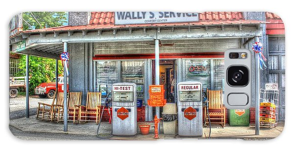Wally's Service Station Galaxy Case