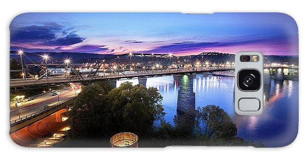 Walnut Street Walking Bridge Bluff View Galaxy Case