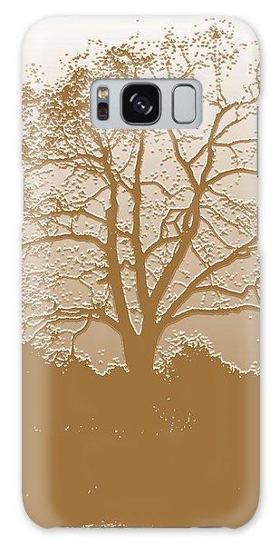 Walnut Tree Series Plaster Golden Galaxy Case