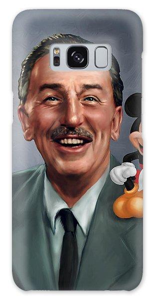 Walt Disney Galaxy Case - Walt Disney Mickey Mouse Partners by Jennifer Hickey