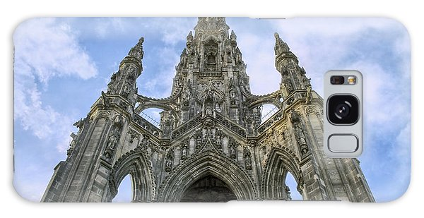 Walter Scott Monument - Edinburgh - Scotland Galaxy Case