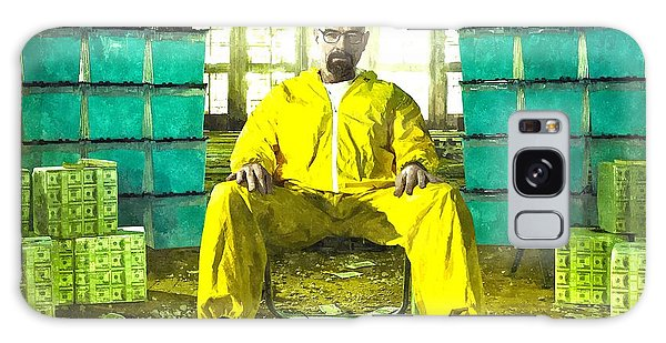Walter White As Heisenberg Painting Galaxy Case by Gianfranco Weiss