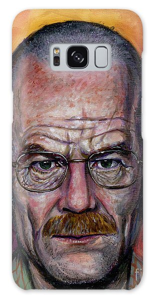 Walter White Galaxy Case by Mark Tavares