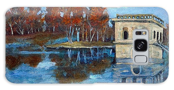 Waltham Reservoir Galaxy Case by Rita Brown