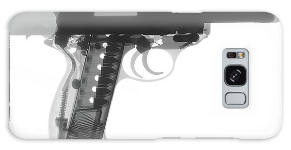 Calico M100 Galaxy Case - Walther P38 X-ray Photograph by Ray Gunz