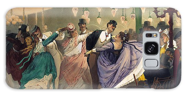 Dance Galaxy Case - Waltz At The Bal Mabille  by Philippe Jacques Linder