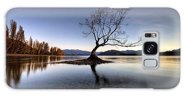 Wanaka - That Tree 2 Galaxy Case by Brad Grove