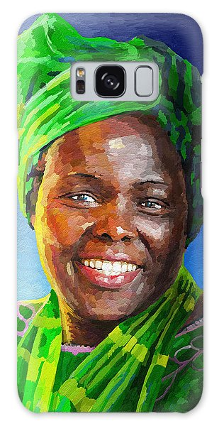 Mama Africa Galaxy Case - Wangari Maathai by Anthony Mwangi