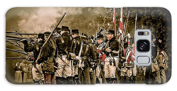War Of 1812 Galaxy Case by Bianca Nadeau