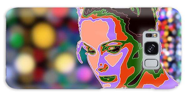 Warhol Style Portrait Galaxy Case