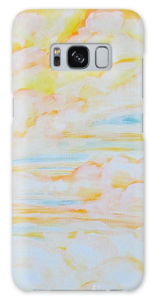 Warm Clouds Galaxy Case