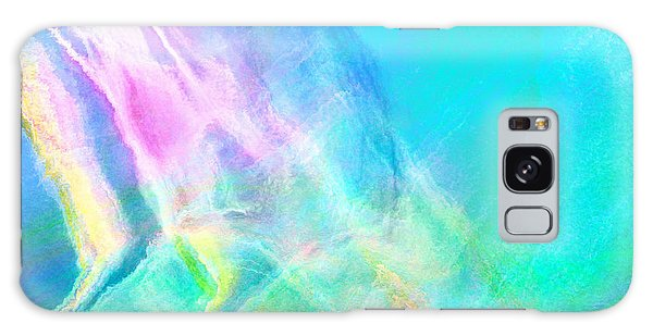 Warm Seas- Abstract Art Galaxy Case