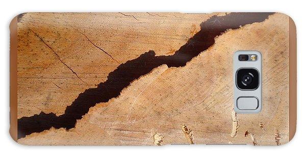 Warm Willow Wood-iii Galaxy Case