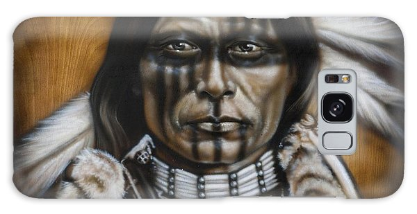 Native American Galaxy Case - Warpaint by Timothy Scoggins