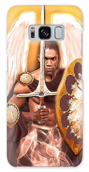 Warrior Angel Galaxy Case